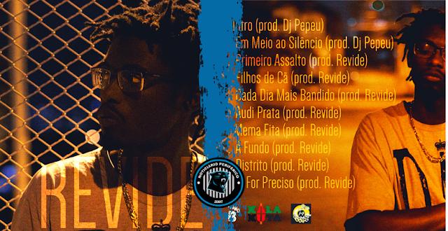 """O rapper paulista Revide lança o álbum """"Meia Noite"""""""