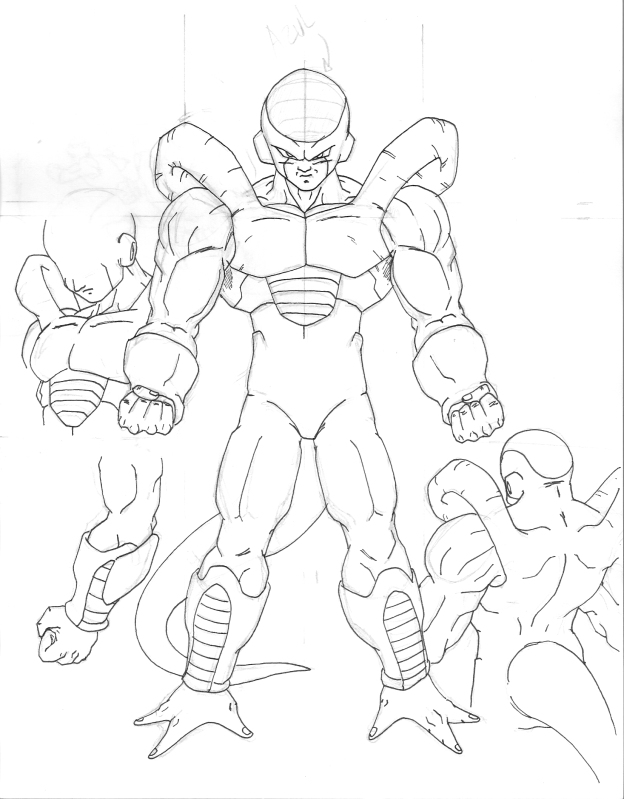 The Frieza Family Coloring Pages Coloring Pages - Auto Electrical ...