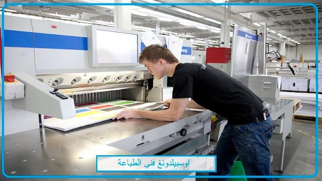 اوسبيلدونغ فني في مجال الطباعة  Medientechnologe/-technologin Druckverarbeitung