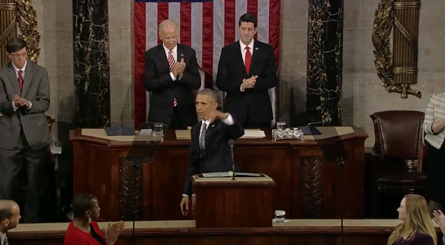 State of the Union 2016 Barack Obama finished speech