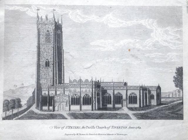 Illustration of St Peter's Church