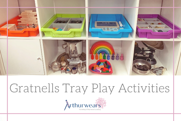 Gratnells Tray Play activity ideas