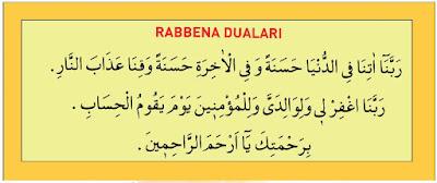 Rabbena Atina, Rabbenağfirli Duası Okunuşu ve Anlamı