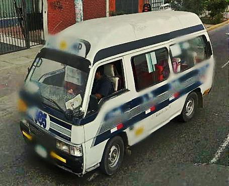 Transporte Urbano En Lima Rutas De Buses Ruta 4205 Ex