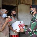 Masyarakat Cirebon Tidak Ketinggalan Terima Baksos HUT ke-75 TNI