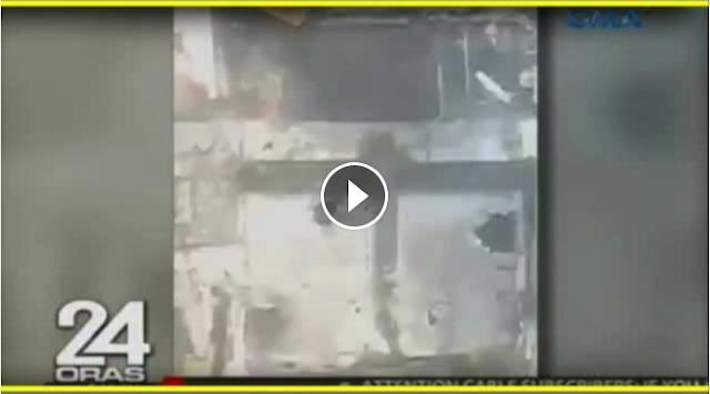 Watch: Bakbakan ng sniper ng militar at ng teroristang sniper kuhang-kuha sa vide0