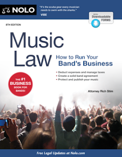 Music Law : How to Run Your Band's Business, 8th Edition