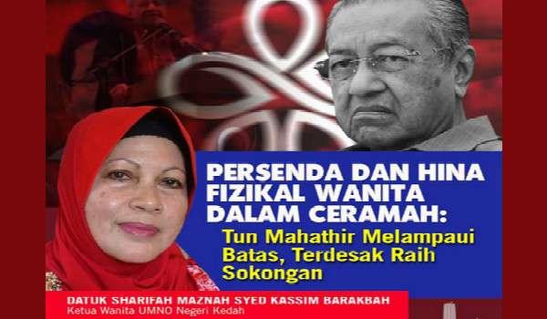 [Video] Mahathir Sudah Terdesak Mula Pancing Undi Wanita Pula