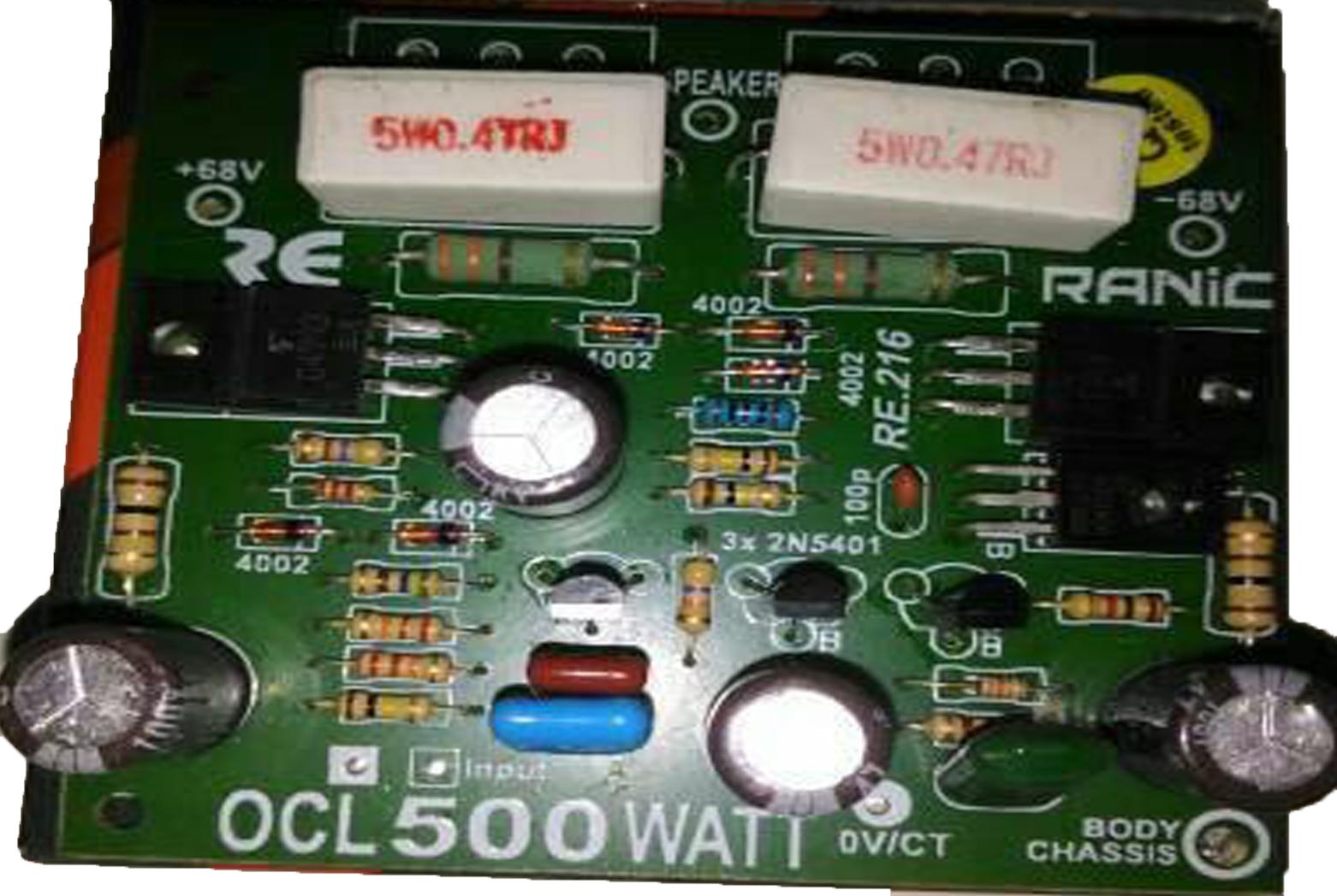 √Modif Power Ampli Agar Bass Nendang - solderku