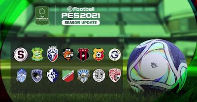 PES 2021 PS4 Option File Liga Promérica Costarica V2