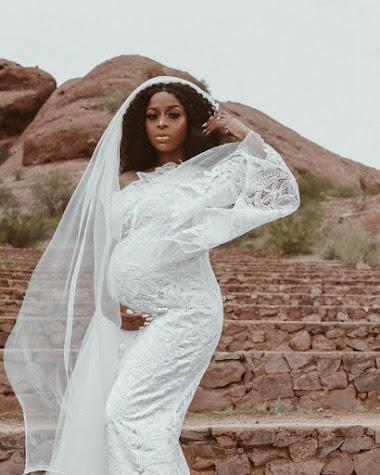 Beauty & Lifestyle Vlogger, Ronke Raji Adeola is Expecting Baby Number 2.