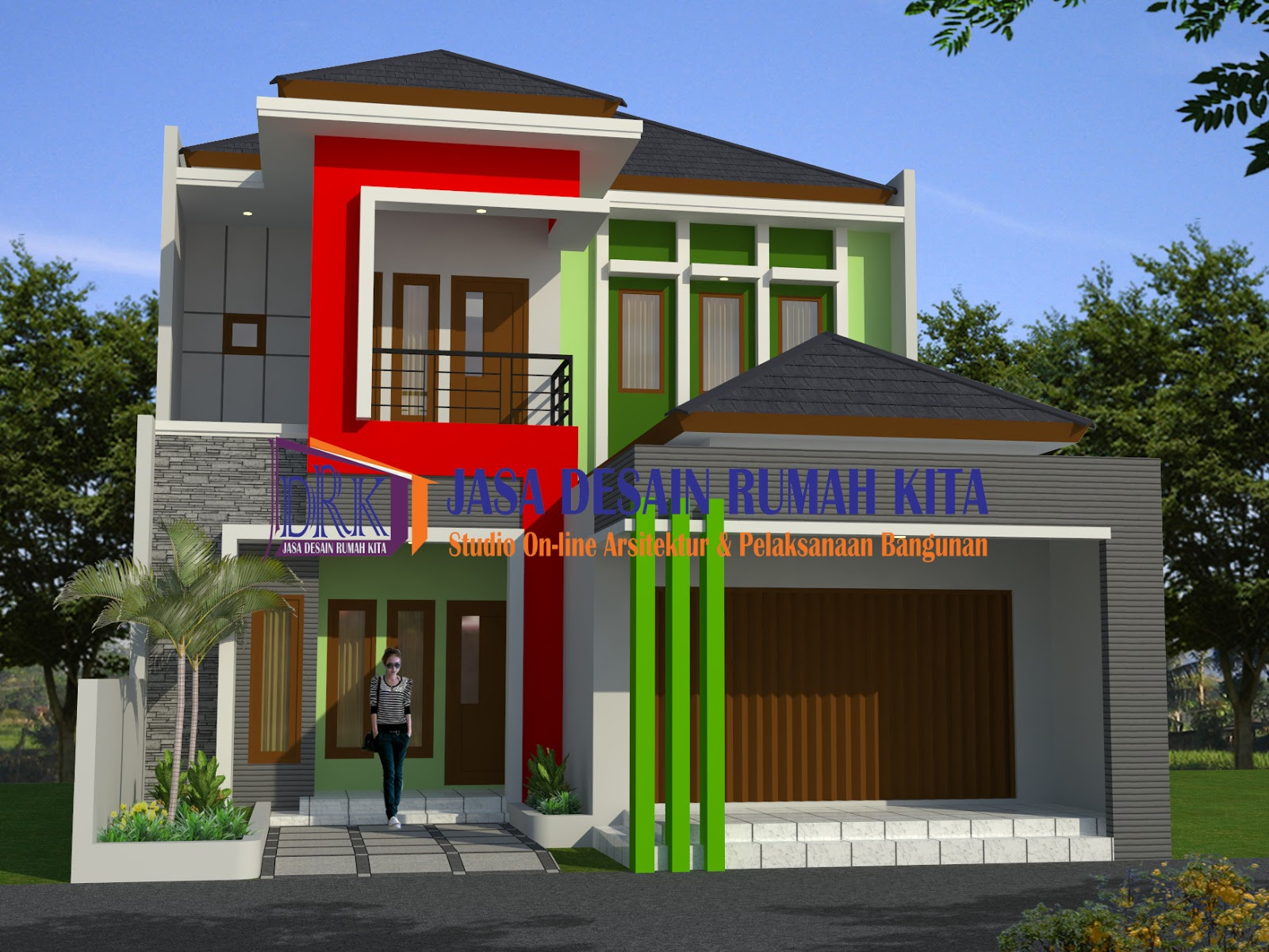105 Gambar Arsitektur Rumah Minimalis 2 Lantai | Gambar ...
