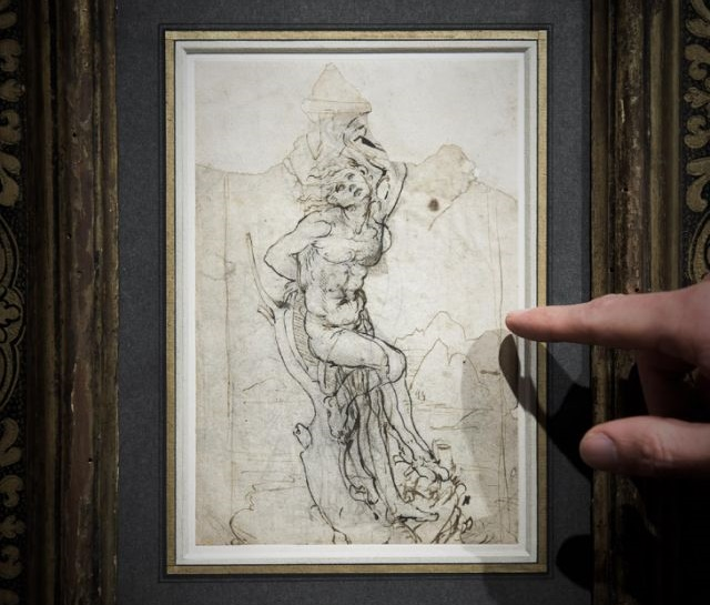 Lost 'sensual' drawing by Renaissance master Leonardo da Vinci discovered in France