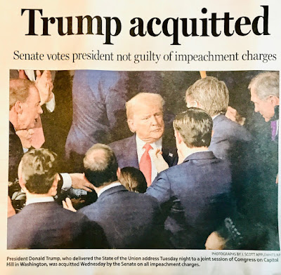 American politics; impeachment; Charleston SC Post and Courier;