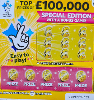 £1 Yellow Scratchcard 2019