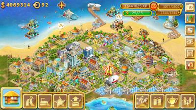 Permainan Paradise Island Mod v3.3.3 Apk Android