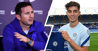 Kai Havertz role at Chelsea will be different from my: Lampard brush off comparison between him and the German
