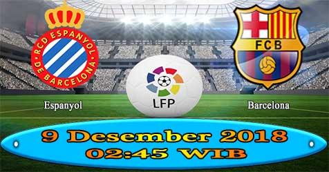 Prediksi Bola855 Espanyol vs Barcelona 9 Desember 2018