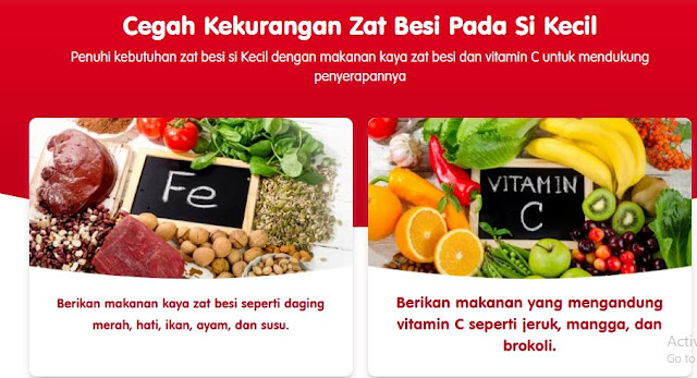 vitamin zat besi anak
