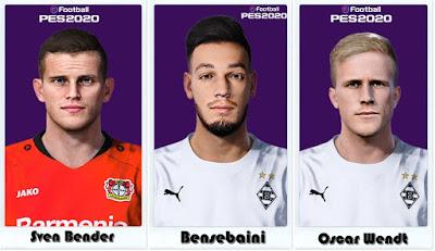PES 2021 Bundesliga Facepack by Shaft