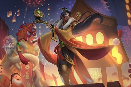 Skin Baru Luo Yi Spesial Chinese New Years 2021, Support  Terbaik Mobile Legends