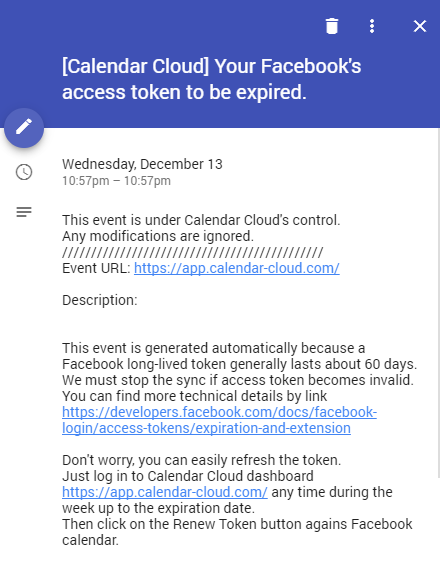 how to get facebook events into your calendar