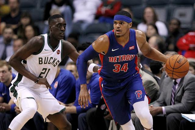 Harris com cara de bobo quando contaram pra ele que o Pistons é vice-líder do Leste
