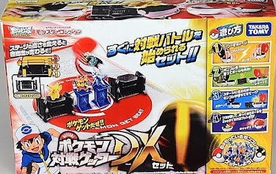 Takara Tomy Monster Collection Pokemon Battle Getter DX Play set