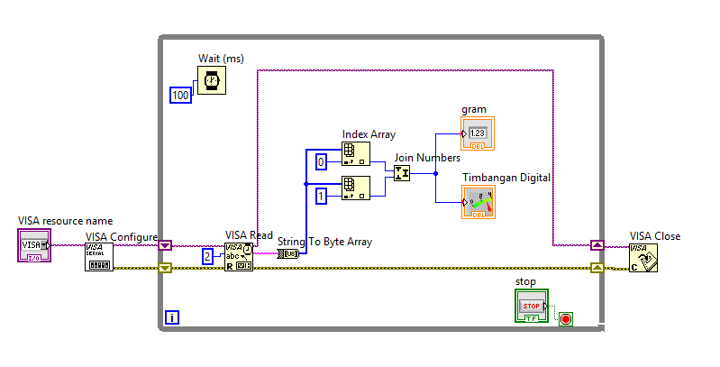 timbangan digital menggunakan sensor