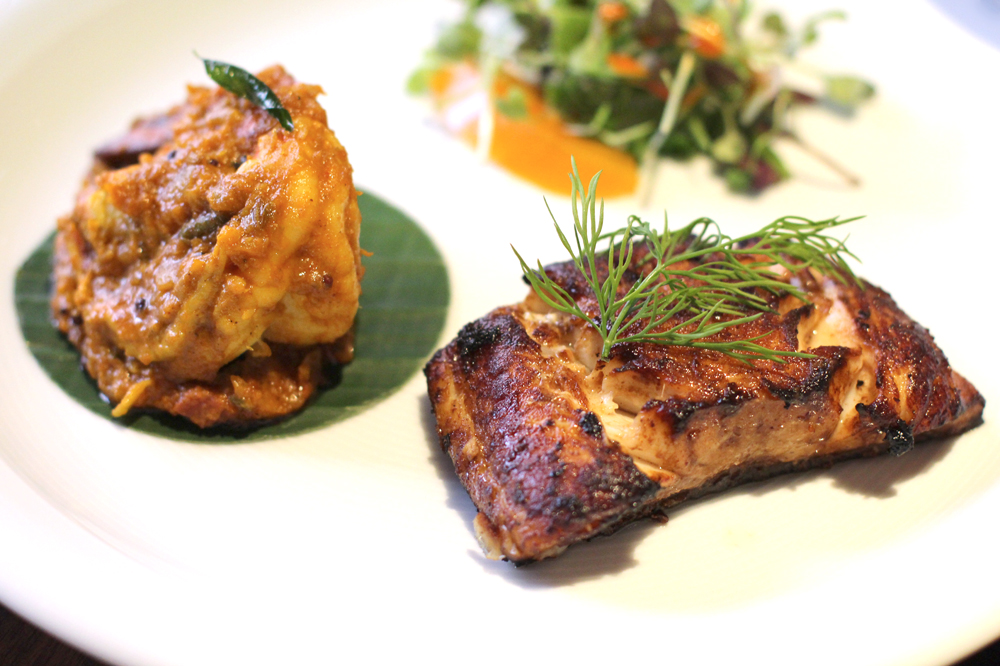 Lunch at Quilon, Michelin-starred Indian restaurant in Victoria, London - UK lifestyle blog
