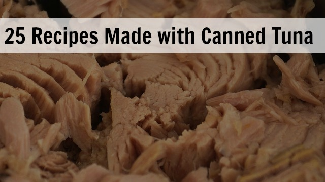 Recipes Made with Canned Tuna