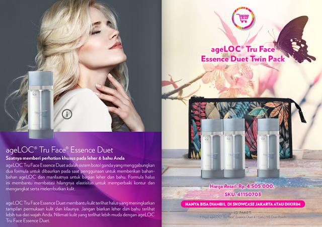 Promo Nu Skin ageLOC Tru Face Essence Duet September 2020
