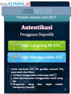 Login Info GTK 2021