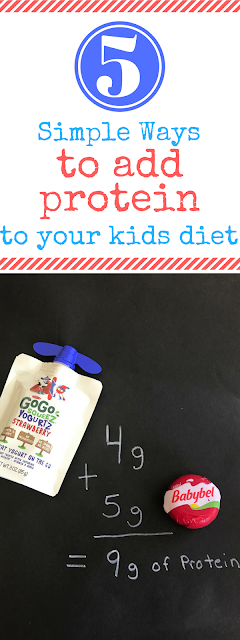 5 Simple Ways to add Protein to Your Child's Diet