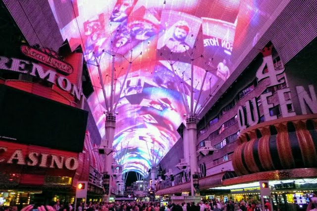 2 Days in Las Vegas - The Fremont Street Experience