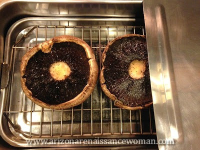 Cameron Stovetop Smoker with Portobello Mushrooms
