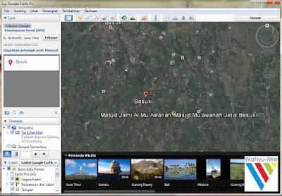 Google Earth Pro Gratis dan Legal (Seharga 5 Juta Rupiah)