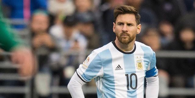 Jugador Argentino Lionel Messi