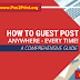Guest Posts on Education Related Websites