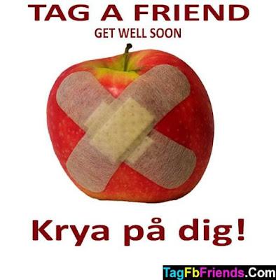 Get well soon in Swedish language