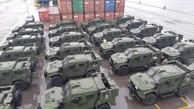 Quân đội Slovenia nhận được Xe chiến thuật hạng nhẹ chung