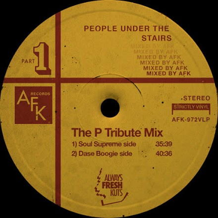 People Under the Stairs Tribut Mixtape von Soul Supreme and Dase Boogie | The P Tribut Mix