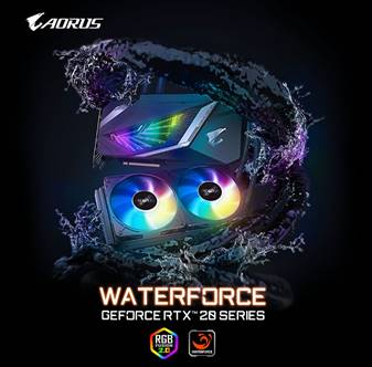 Gigabyte Unleashes Aorus GeForce RTX 2080 Super Waterforce Lineup