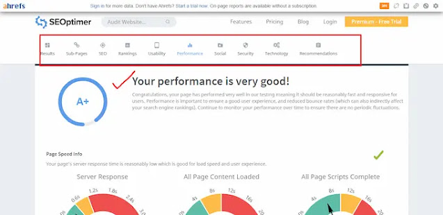 The website audit report of  techazu done by SEOptimer