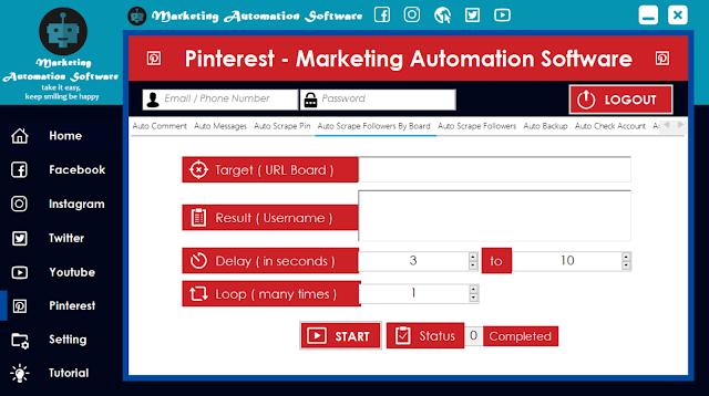 Cara Cepat Mengambil ID Pengguna Berdasarkan Board di Pinterest Secara Automatis