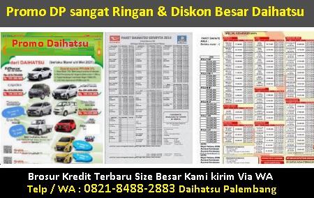 harga kredit mobil daihatsu gran max  palembang brosur
