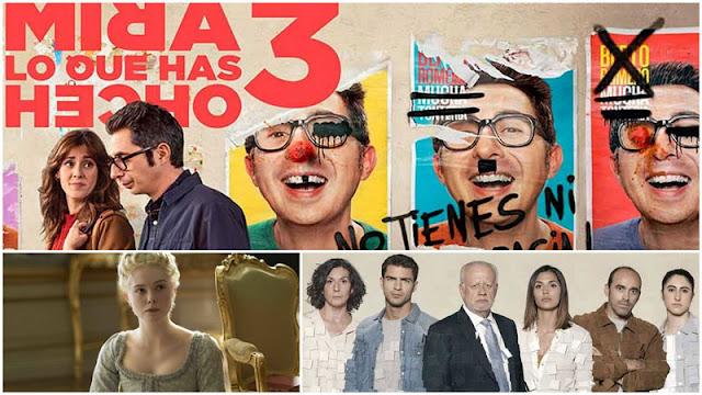 Reseñas: 'Mira lo que has hecho' temporada 3, 'The Great' y 'Desaparecidos' con Juan Echanove