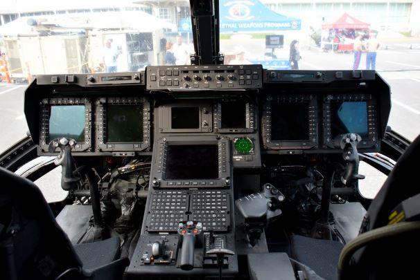 Bell Boeing V-22 Osprey cockpit