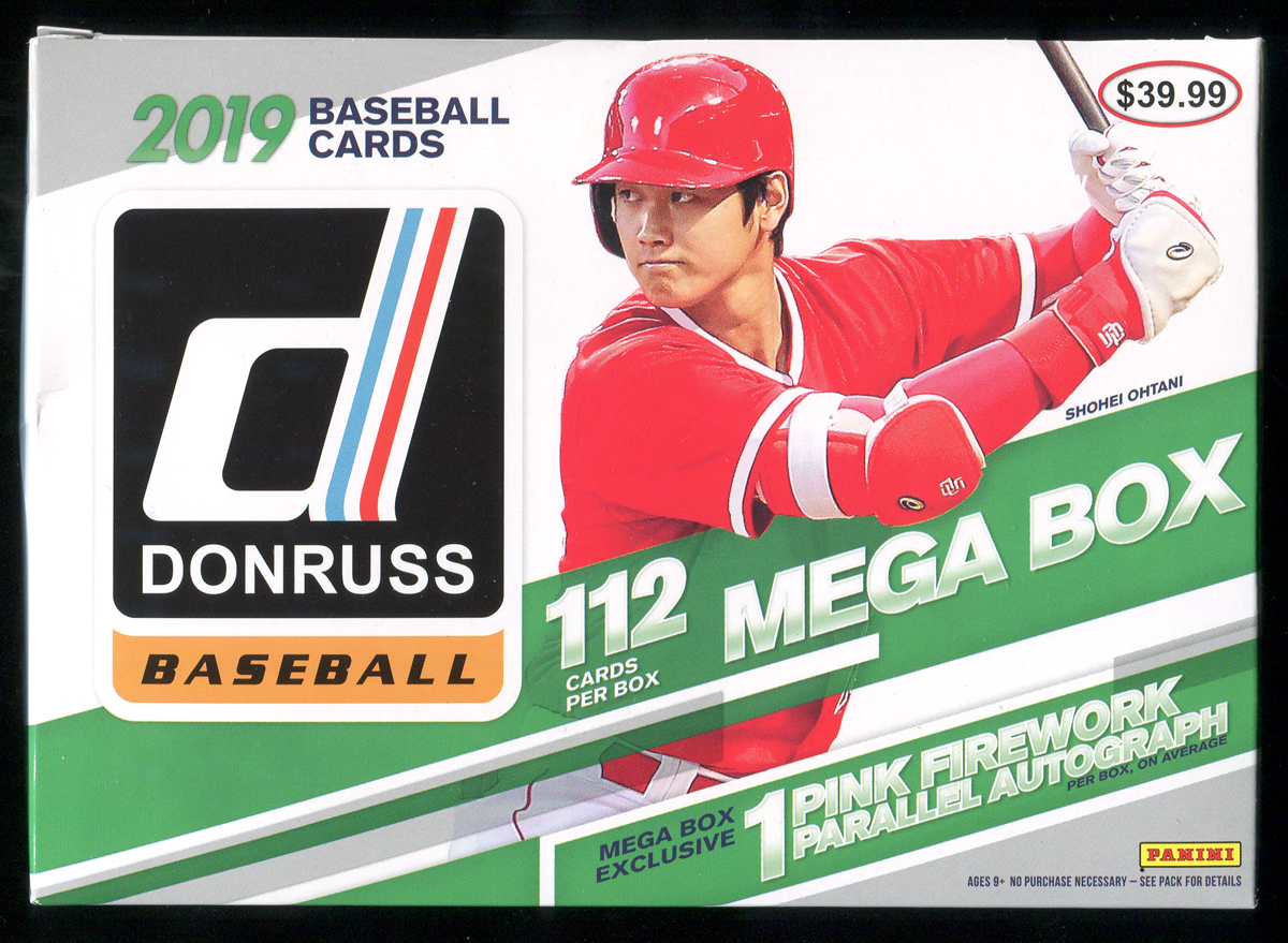 2019 Donruss Mega Box Break