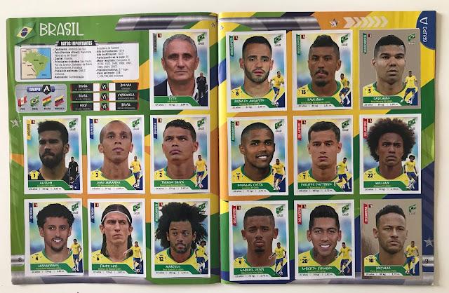 figurine brasile copa america 2019